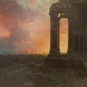 Le soleil se couche_Delacroix-atelier LB